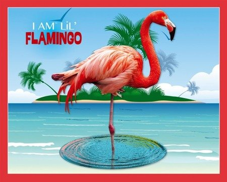 MADD CAPP,  Puzzle I AM LIL' - FLAMINGO - Flaming